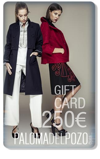 Gift card 250